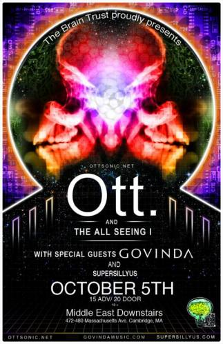 Ott. and The All Seeing I @ The Middle East
