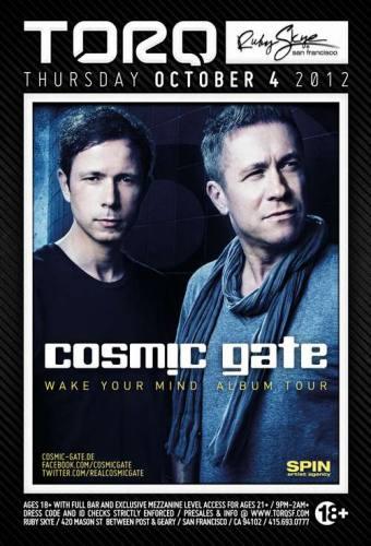 Cosmic Gate @ Ruby Skye (10-04-2012)