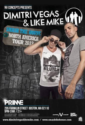 Dimitri Vegas & Like Mike @ PRIME