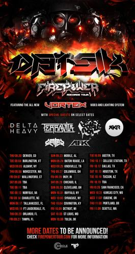 Datsik, Delta Heavy, Bare Noize and AFK @ House of Blues - Cleveland