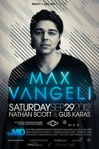 Max Vangeli at The Mid Chicago