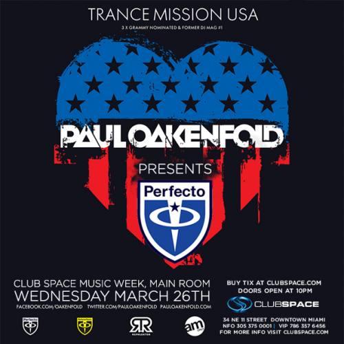 Paul Oakenfold @ Space