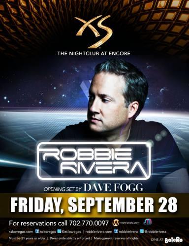 Robbie Rivera @ XS Las Vegas (09-28-2012)