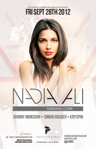 Nadia Ali @ Foundation
