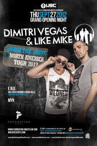 Foundation Grand Opening Feat. Dimitri Vegas and Like Mike
