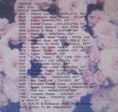 Crystal Castles @ The Fillmore Charlotte