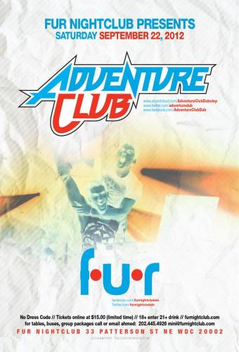 Adventure Club @ Fur Nightclub