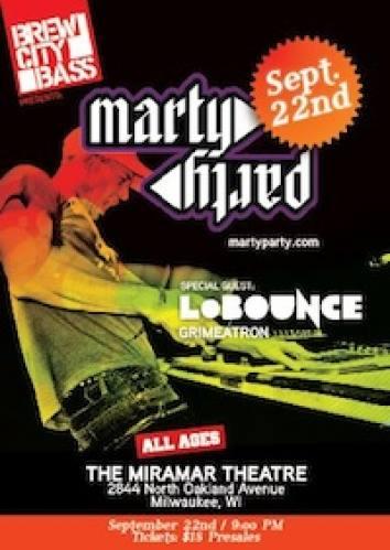 MartyParty w/ LoBounce @ Miramar Theatre