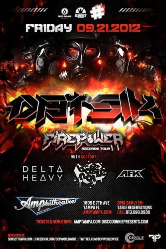 Datsik @ Amphitheatre Event Facility - Tampa