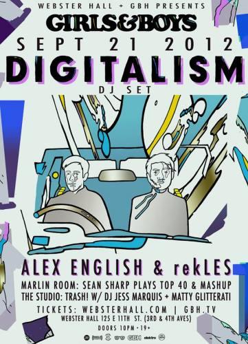 Digitalism (DJ) @ Webster Hall