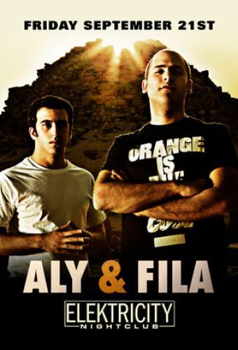 Aly & Fila @ Elektricity