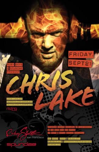 Chris Lake @ Ruby Skye (9/21/12)