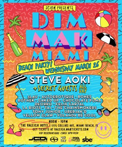 Dim Mak Miami Beach Party