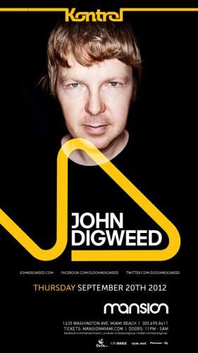 John Digweed @ Mansion Nightclub