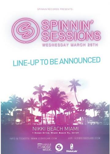 Spinnin' Sessions Miami 2014
