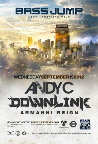 Andy C & Downlink @ Monarch Theatre