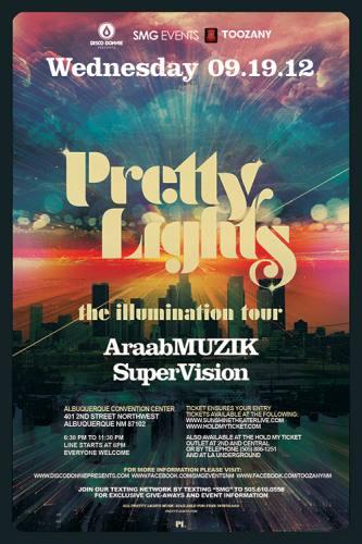Pretty Lights @ Albuquerque Convention Center