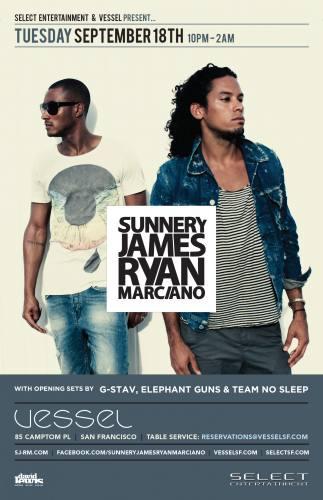 Sunnery James & Ryan Marciano @ Vessel