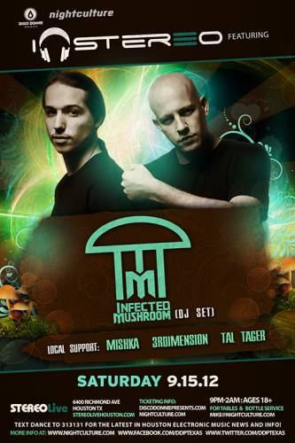 Infected Mushroom (DJ) @ Stereo Live