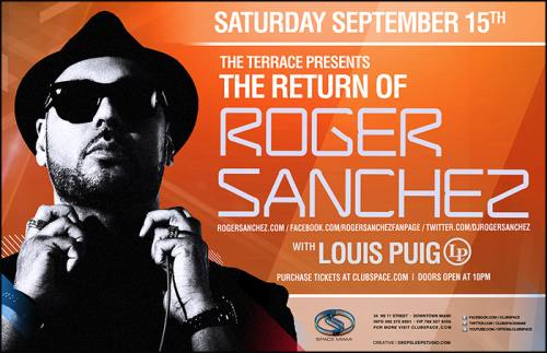 Roger Sanchez @ Space