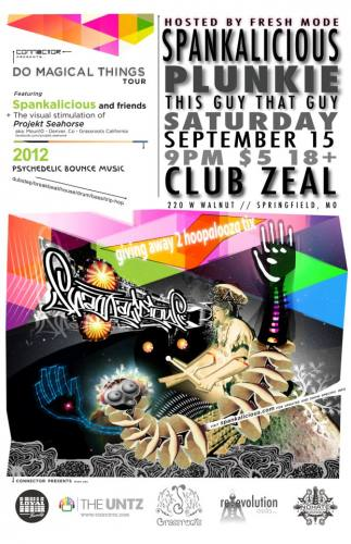 Spankalicious in Springfield MO @ Club Zeal