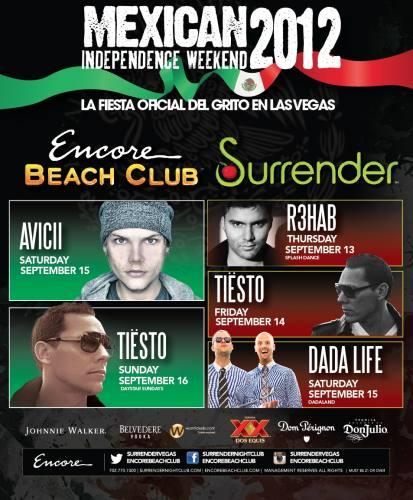 Avicii @ Encore Beach Club (9/15/12)