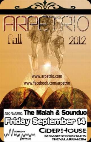 Arepterio w/ The Malah & Sounduo @ The Ciderhouse