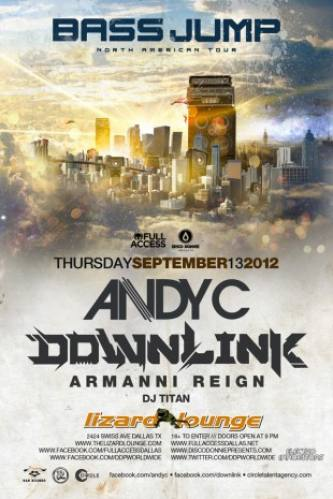 Andy C + Downlink @ Lizard Lounge