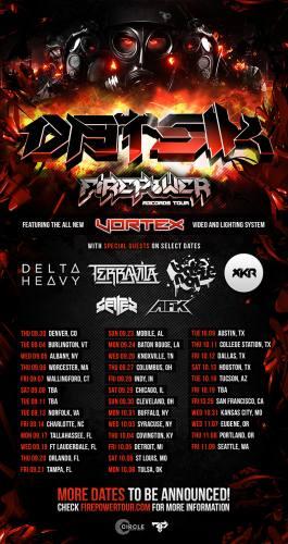 Datsik w/ Delta Heavy, Bare Noize, AFK @ The NorVa