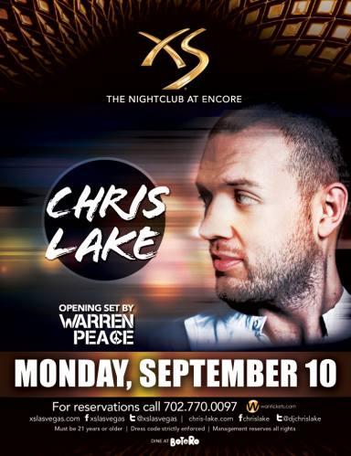 Chris Lake @ XS Las Vegas (09-10-2012)