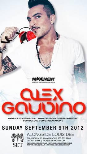 Alex Gaudino @ SET (09-09-2012)