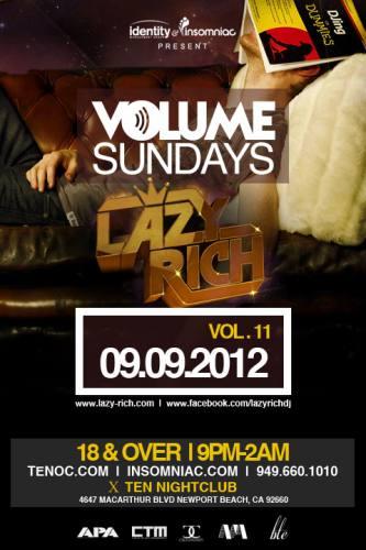 Lazy Rich @ Ten Nightclub