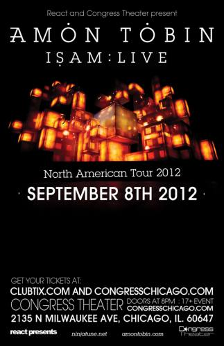 Amon Tobin @ Congress Theater (9/8/12)