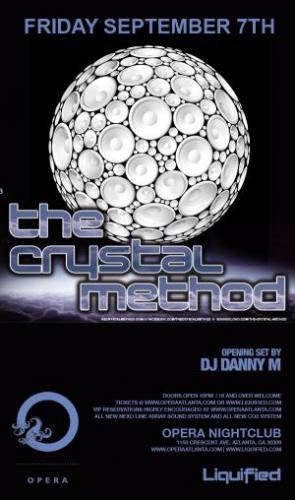 The Crystal Method @ Opera