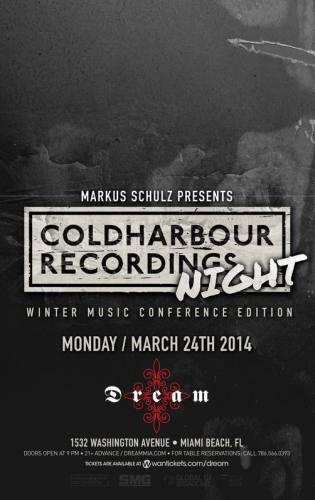 MARKUS SCHULZ presents ColdHarbour Recordings @ Dream