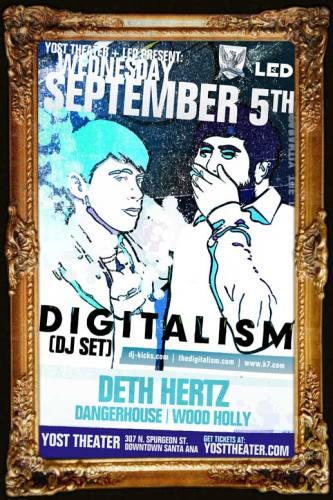 Digitalism (DJ) @ Yost Theater