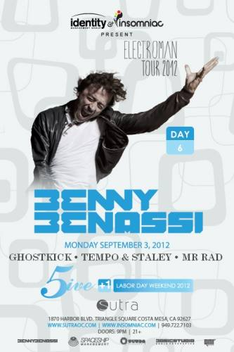 Benny Benassi @ Sutra (09-03-2012)