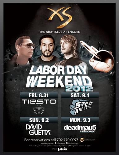 David Guetta @ XS Las Vegas (9/2/12)