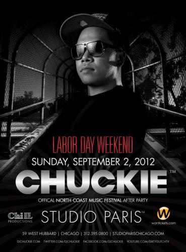 Chuckie @ Studio Paris