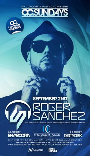 Roger Sanchez @ Ocean Club