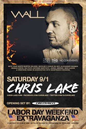 Chris Lake at Wall @ The W Hotel
