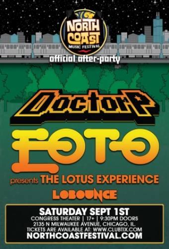 Doctor P, EOTO, & LoBounce @ Congress Theater