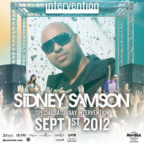 Sidney Samson @ Hard Rock Hotel - San Diego