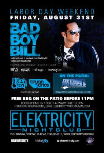 Bad Boy Bill @ Elektricity (8/31/12)