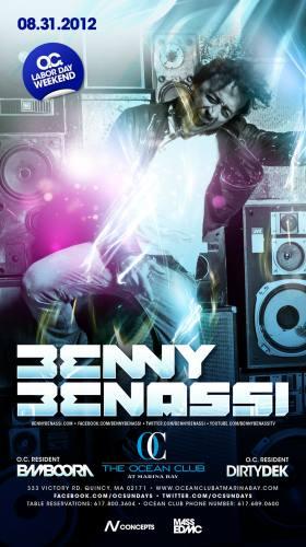 Benny Benassi @ Ocean Club