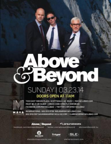 Above & Beyond @ Maya Day & Nightclub