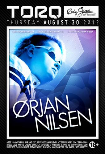 Orjan Nilsen @ Ruby Skye (8/30/12)