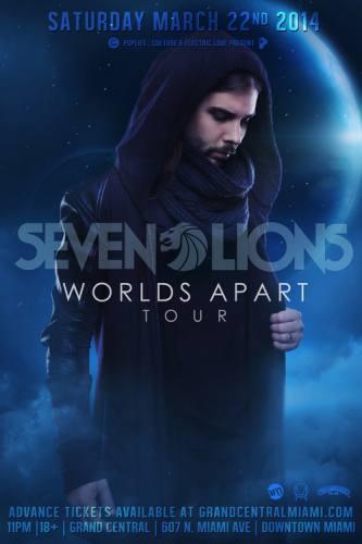 Seven Lions @ Grand Central - Miami
