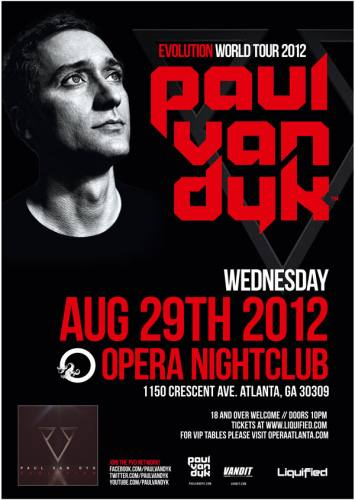 Paul van Dyk @ Opera (8/29/12)