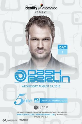Dash Berlin @ Sutra (08-29-2012)